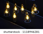 decorative lamps for various... | Shutterstock . vector #1118946281