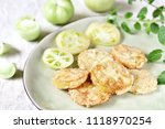 With Fried Green Tomato. Close...