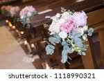 decoration from flowers in the... | Shutterstock . vector #1118990321