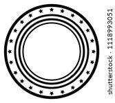 isolated monochrome american... | Shutterstock .eps vector #1118993051