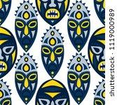 seamless pattern. tribal... | Shutterstock .eps vector #1119000989