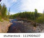 high falls of tettegouche state ... | Shutterstock . vector #1119004637