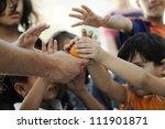 humanitarian food for poor...   Shutterstock . vector #111901871