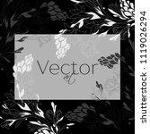template background  vector... | Shutterstock .eps vector #1119026294