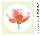 flower vector table   Shutterstock .eps vector #1119029765