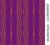 Vintage Striped Zigzag Pattern...