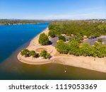 sacramento state aquatic center | Shutterstock . vector #1119053369