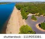 sacramento state aquatic center | Shutterstock . vector #1119053381