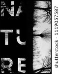 nature photo print  | Shutterstock . vector #1119057587