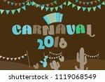 popular event in brazil....   Shutterstock .eps vector #1119068549