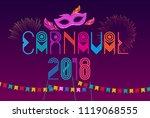 popular event in brazil....   Shutterstock .eps vector #1119068555