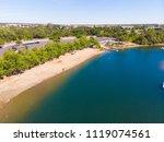 aerial drone view of sacramento ... | Shutterstock . vector #1119074561
