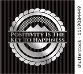 positivity is the key to... | Shutterstock .eps vector #1119084449