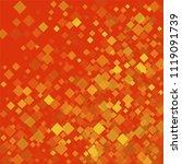rhombus red minimal geometric... | Shutterstock .eps vector #1119091739