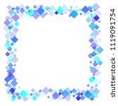 rhombus vector minimal...   Shutterstock .eps vector #1119091754