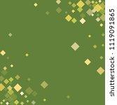 rhombus minimal geometric cover ... | Shutterstock .eps vector #1119091865