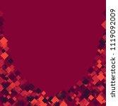 rhombus confetti minimal... | Shutterstock .eps vector #1119092009