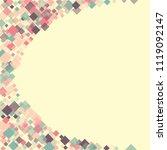 rhombus creative minimal...   Shutterstock .eps vector #1119092147