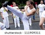 warsaw  poland  august 26 ... | Shutterstock . vector #111909311