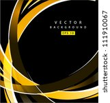 Vector Abstract Yellow Spiral...