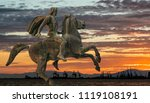 alexander the great at... | Shutterstock . vector #1119108191