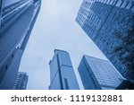 modern city building | Shutterstock . vector #1119132881