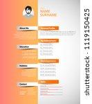 creative simple cv template...