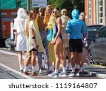 milan  italy  june 18  2018 ...   Shutterstock . vector #1119164807