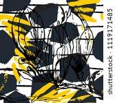 tropical  stripe  animal motif. ...   Shutterstock .eps vector #1119171485