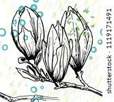 tropical  stripe  animal motif. ...   Shutterstock .eps vector #1119171491