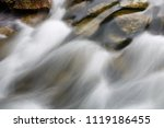 water flowing in the stream | Shutterstock . vector #1119186455