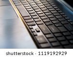 close up of keyboard of a... | Shutterstock . vector #1119192929