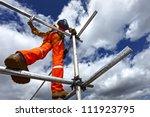 scaffolding | Shutterstock . vector #111923795