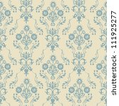 Retro Seamless Pattern With...