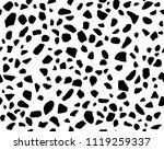 terrazzo pattern. endless... | Shutterstock .eps vector #1119259337