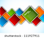 abstract background with bright ... | Shutterstock .eps vector #111927911
