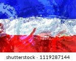 flag of yugoslavia. vector...   Shutterstock .eps vector #1119287144