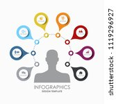 infographic design template... | Shutterstock .eps vector #1119296927