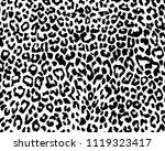 fur cheetah. template. texture... | Shutterstock .eps vector #1119323417