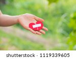 close up woman hands connecting ... | Shutterstock . vector #1119339605