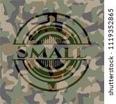 small camouflage emblem | Shutterstock .eps vector #1119352865