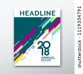 cover annual report abstract... | Shutterstock .eps vector #1119354791