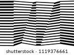 black and white stripe line...   Shutterstock .eps vector #1119376661