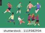 european football  soccer... | Shutterstock .eps vector #1119382934