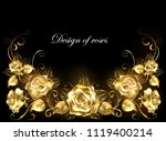 gold  jeweler  shiny ... | Shutterstock .eps vector #1119400214