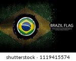 background halftone gradient... | Shutterstock .eps vector #1119415574