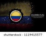 background halftone gradient... | Shutterstock .eps vector #1119415577