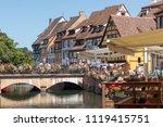 colmar  france   june 23  2018  ...   Shutterstock . vector #1119415751