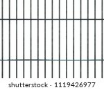 3d Realistic Steel Prison Bars...