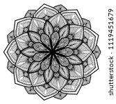 mandalas for coloring  book....   Shutterstock .eps vector #1119451679